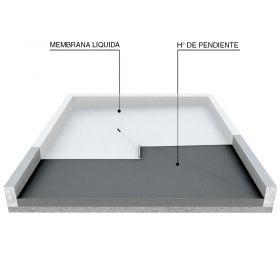 Impermeabilización de cubiertas y azoteas con membrana líquida