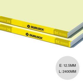 Placa yeso cielorraso exterior Semi Cubiertos borde rebajado 12.5mm x 1200mm x 2400mm