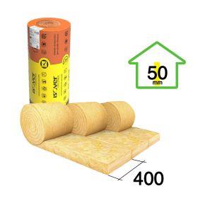 Acustiver R 50mm x 400mm x 18.20m rollo 3u x 21.84m²