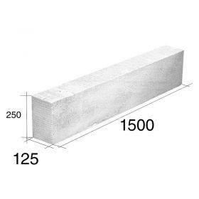 Dintel 12.5 HCCA 125mm x 250mm x 1500mm