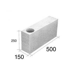 Ladrillo O15 tensor esquina HCCA 150mm x 250mm x 500mm