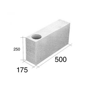 Ladrillo O17.5 tensor esquina HCCA 175mm x 250mm x 500mm