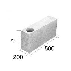 Ladrillo O20 tensor esquina HCCA 200mm x 250mm x 500mm
