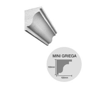 Moldura decorativa HCCA Mini Griega 100mm x 100mm x 500mm